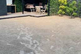 Sand klar til rullegræs